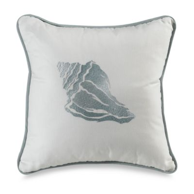 Coastline Shell 18-Inch Toss Pillow