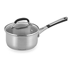 Simply Calphalon® Stainless Steel 1-Quart Covered Saucepan