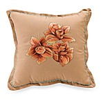 Key West Flower 14-Inch Toss Pillow