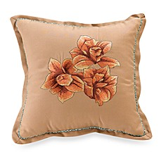 Key West Flower 14-Inch Throw Pillow