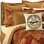 Orange Cay Comforter Set by Tommy Bahama, 100% Cotton