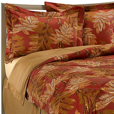 Buy Tommy Bahama 174 Orange Cay Comforter Set From Bed Bath
