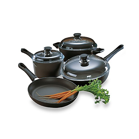 Scanpan® Classic Non-Stick Ceramic Titanium 7-Piece Cookware Set