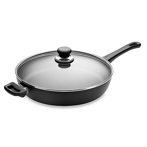 Scanpan® Classic Non-Stick Ceramic Titanium 12 1/2-Inch Covered Saute Pan