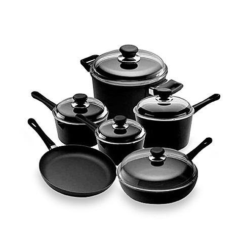 Scanpan® Classic Non-Stick Ceramic Titanium 11-Piece Cookware Set and Open Stock