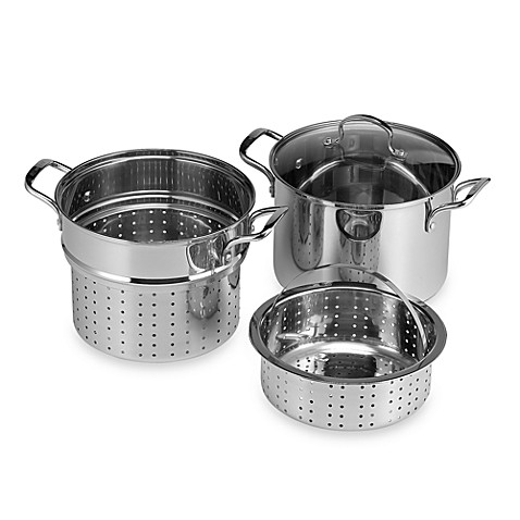 Buy Denmark 174 Stainless Steel 12 Quart 4 Piece Multi Cooker