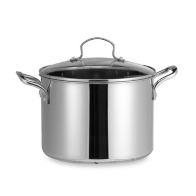 Denmark® Stainless Steel 8-Quart Covered Stockpot