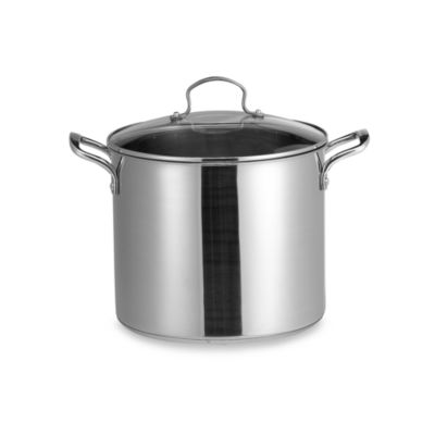 Denmark Tools for Cooks® Stainless Steel 12-Quart Covered Stockpot