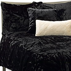 Faux Fur Panther Duvet Cover Set Black Bed Bath Amp Beyond