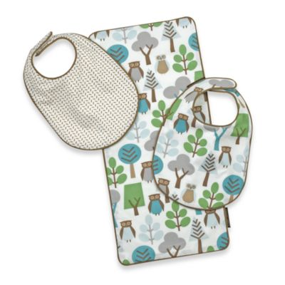 DwellStudio® Burp Cloth and Bib Set