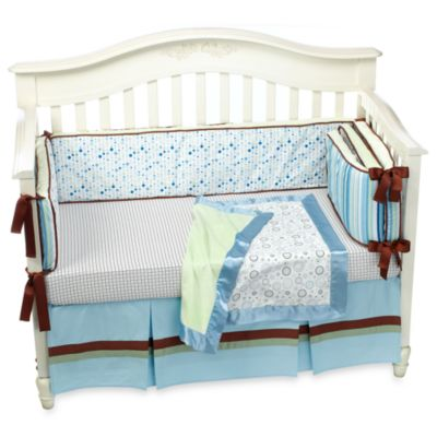 Caden Lane® Classic Cade 4-Piece Crib Bedding Set