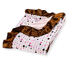 Caden Lane® Classic Collection Blanket in Pink Dot