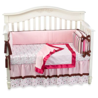 Caden Lane® Classic Cassie 4-Piece Crib Bedding Set