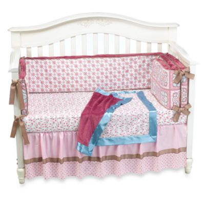 Caden Lane® Vintage Collection Ava 4-Piece Crib Bedding Set