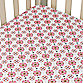 Caden Lane® Dylan Vintage Small Moroccan Crib Sheet in Pink