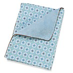 Caden Lane® Vintage Collection Blanket in Blue Octagon