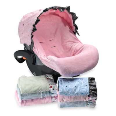 Caden Lane Blue Car Seat Cover