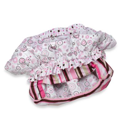 Caden Lane® Cart Cover in Pink Circle