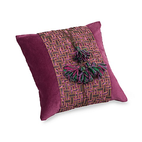 Suzani 18-Inch x 18-Inch Square Toss Pillow
