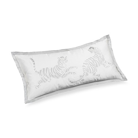 Snow Leopard 10-Inch x 22-Inch Oblong Pillow