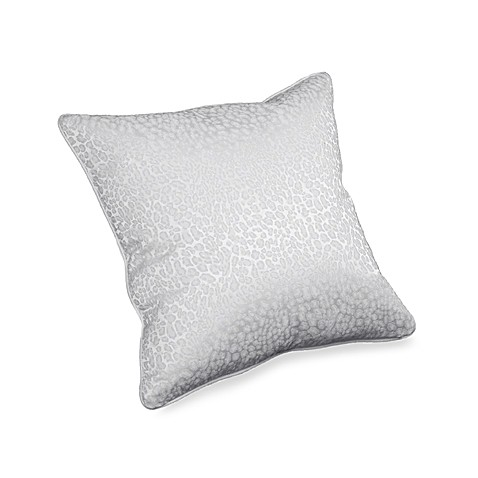 Snow Leopard 18-Inch x 18-Inch Square Toss Pillow