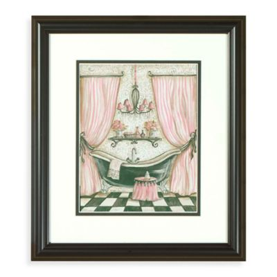 Fanciful Bathroom IV Wall Art