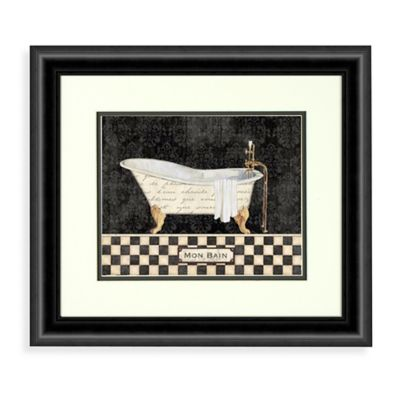 French Bathtubs Wall Art (Set of 2)