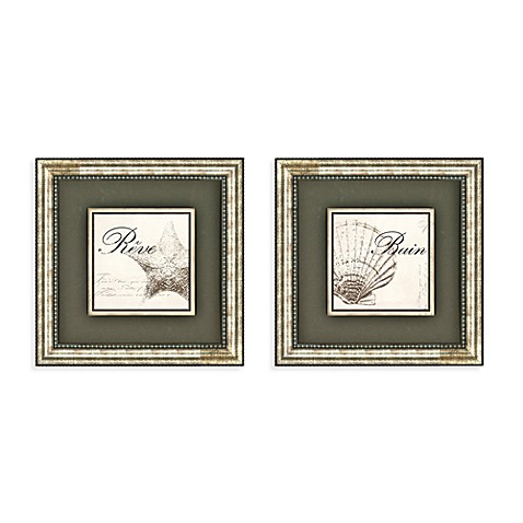 Bain & Reve Wall Art (Set of 2)