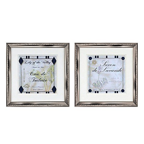 Lily and Lavender Wall Art (Set of 2)