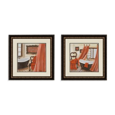 Antique Bath Wall Art (Set of 2)