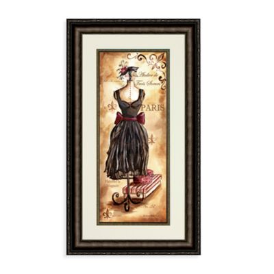 Fashion Du Jour Dress I Wall Art