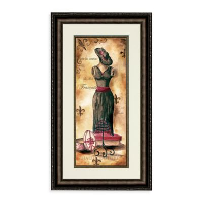 Fashion Du Jour Dress II Wall Art