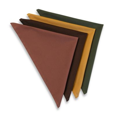 Harvest Napkins (Set of 8; 2 of each color)