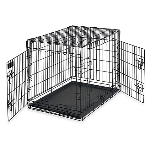Petmate® Two-Door Intermediate Pet Kennel