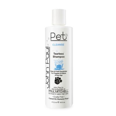 John Paul Pet 16-Ounce Tearless Gentle Puppy and Kitten Shampoo