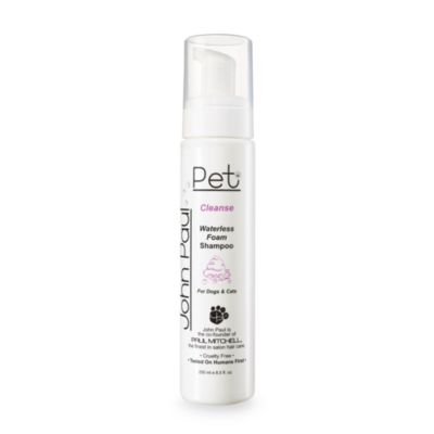 John Paul Pet Waterless Foam Dog and Cat Shampoo