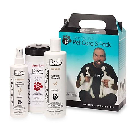 John Paul Pet Oatmeal Grooming Starter Kit