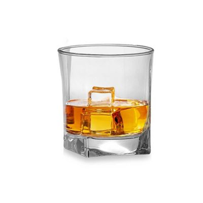 Red Series Square 10-Ounce Double Old Fashioned (Set of 4)