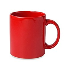 Waechtersbach Red Ceramic 12-Ounce Mugs (Set of 4)