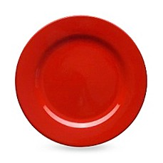 Waechtersbach Red Ceramic Rimmed 8 1/2-Inch Salad Plates (Set of 2)