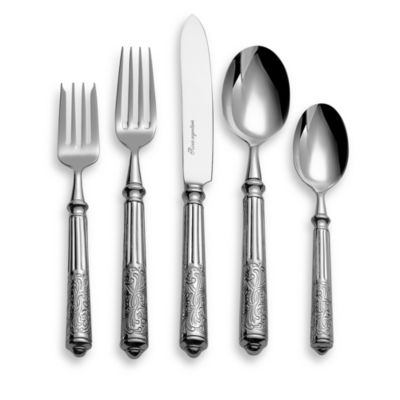 Ricci® Amalfi Stainless Steel 5-Piece Place Setting