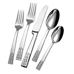 Mikasa Platinum Links Frost 5-Piece Flatware Set