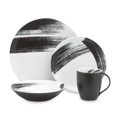 Brushstroke 4-Piece Place Setting