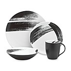 Mikasa Brushstroke 4-Piece Dinnerware Round Place Setting