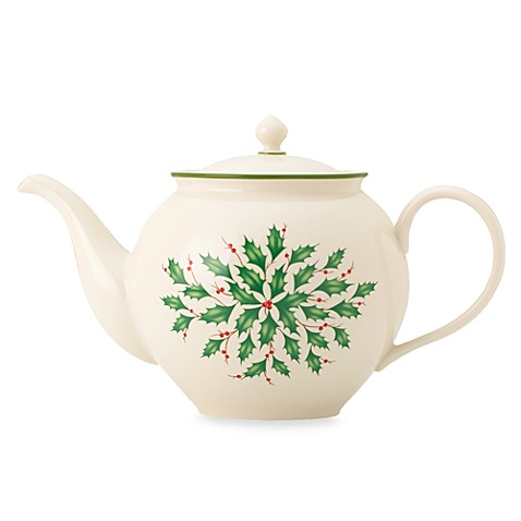 Lenox Holiday™ 40-Ounce Teapot