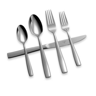 Nicole Miller® Placid 5-Piece Flatware Set