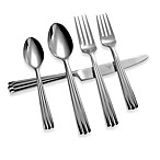 Nicole Miller® Rainfall 5-Piece Flatware Set