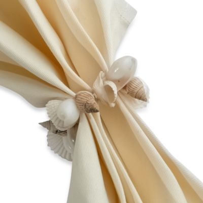 Seashell Cluster Napkin Ring