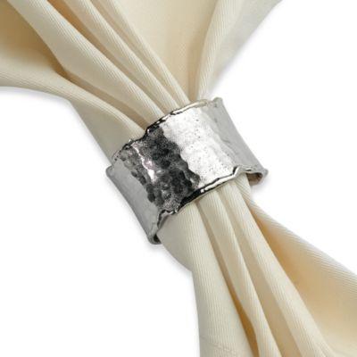 Handmade Silvertone Napkin Ring