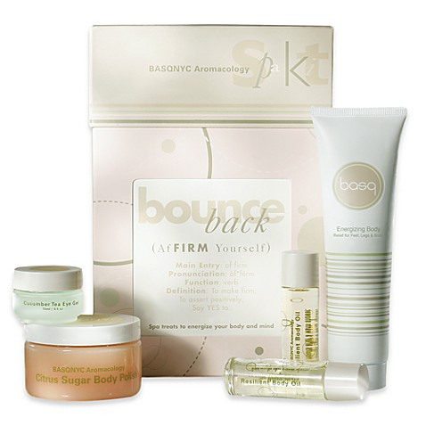 basq Bounce Back Aromacology Spa Kit
